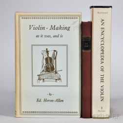 Three Violin-related Books