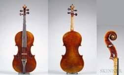 Modern French Violin, Emile Laurent, Bordeaux, 1923