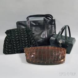 aa9c0aa52551 Four Leather and Suede Purses and Cases
