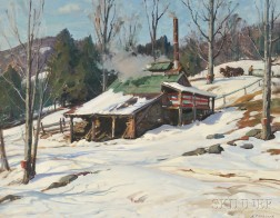 Aldro Thompson Hibbard (American, 1886-1972)      Sugaring Off