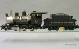 Boxed L.G.B. Electronic Colorado & Southern No. 6 Steam Locomotive
