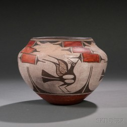 Zia Polychrome Bird Jar