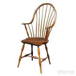 Windsor Bow-back Continuous Armchair
