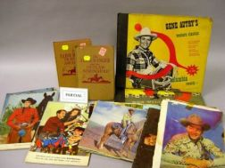 Group of Western and Cowboy Collectibles