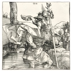 Albrecht Dürer (German, 1471-1528)      St. Christopher