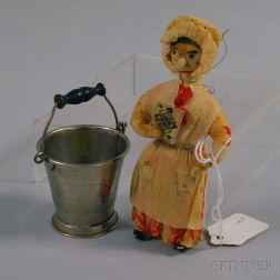 Miniature Bucket and Christmas Ornament