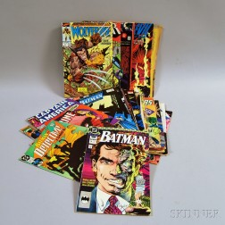 Thirty-three Mostly Late 1980s/Early 1990s Comic Books