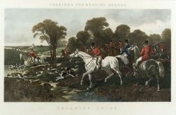 After John Frederick Herring, Senior (British, 1795-1865)  Lot of Two Plates from Herring's Fox-Hunting Scenes