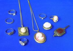 Group of Late 19th/Early 20th Century Jewelry