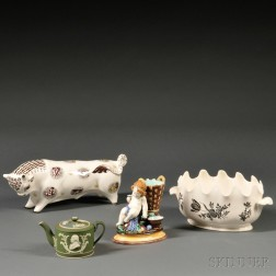 Four Assorted Wedgwood Items
