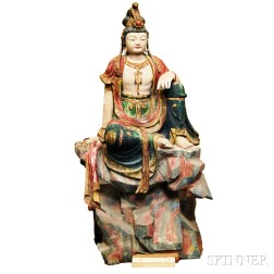 Three Statues of Guanyin