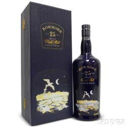 Bowmore Seagulls 25 Years Old, 1 750ml bottle (pc)