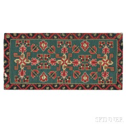 Needlepoint Carriage Cushion Cover