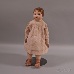 Ella Smith Alabama Baby Painted Doll