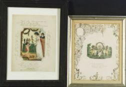Five Framed Prints of Children and Animals