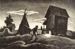 Thomas Hart Benton (American, 1889-1975)      Night Firing