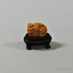 Small Carved Stone Seal