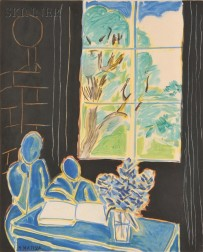 After Henri Matisse (French, 1869-1954)      La silence habité des maisons