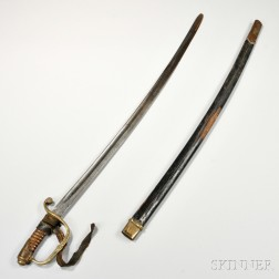 Russian Sword and Scabbard