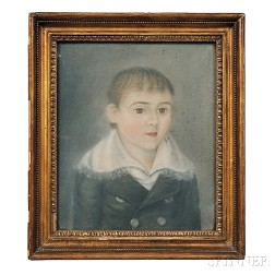 Attributed to Micah Williams (New Jersey, 1782-1837)      Portrait of William Kirby, Aged Nine and a Half.