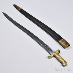 Whitney Saber Bayonet and Scabbard