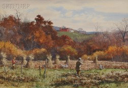 Aiden Lassell Ripley (American, 1896-1969)      Pheasant Hunting