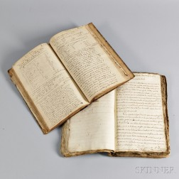 Spanish Language Manuscript Letter Book Regarding Shipping, 1797-1817.