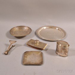Six Pieces of American Sterling Silver