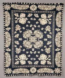 Two Jacquard Coverlets