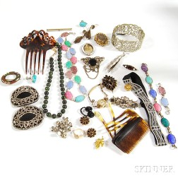 Group of Mostly Victorian Jewelry