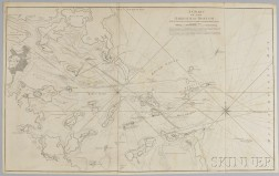 A Chart of the Harbour of Boston With the Soundings, Sailing-Marks, and Other Directions
