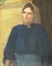 Lilla Cabot Perry (American, 1848-1933)      Peasant Woman