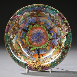 Wedgwood Fairyland Lustre Lily Tray