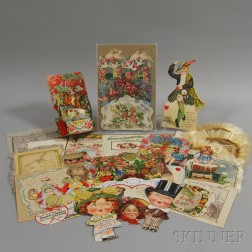 Small Collection of Mostly 19th and 20th Century Valentines