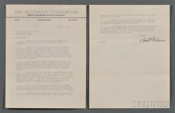 Bill W., [aka] William Griffith Wilson (1895-1971) Typed Letter Signed, 27 July 1943.