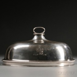 George III Sterling Silver Roast Cover