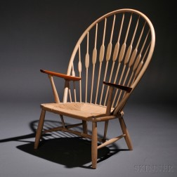 Hans Wegner (1914-2007) Peacock Chair
