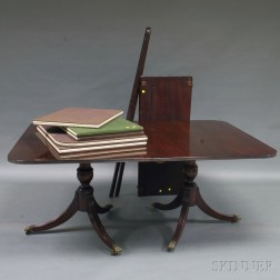 George III-style Double-pedestal Dining Table