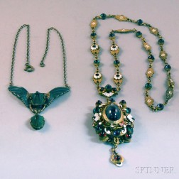 Two Revival Necklaces