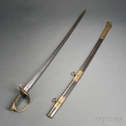 Model 1850 Staff & Field Officer's Sword