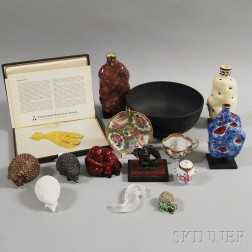 Group of Decorative Objects