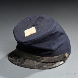 Model 1858 Forage Cap with Third Corps Badge