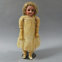 Simon & Halbig Bisque Socket Head Girl Doll