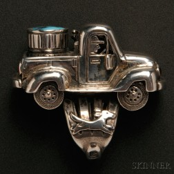 Contemporary Navajo Ring by Clarence Lee