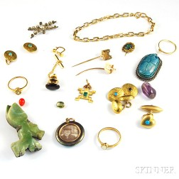 Small Group of Jewelry and Findings