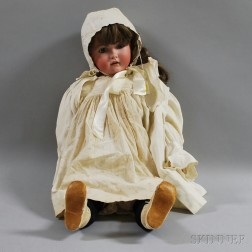 Large Kestner Bisque Head Doll