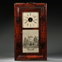 J. C. Brown Eight-day Ogee Clock