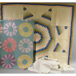 Group of Quilts and Linens
