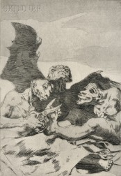 Francisco José de Goya y Lucientes (Spanish, 1746-1828)      Se Repulen (They Spruce Themselves Up)