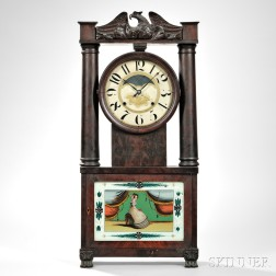 George Marsh Hollow Column Clock